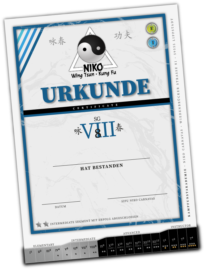 Urkunde Grad Intermediate